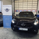 Nissan Infiniti QX70 mit LPG; Autogas