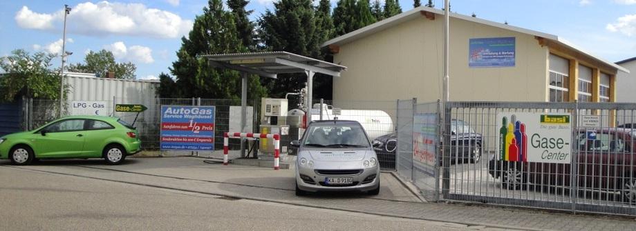 Autogas Umrüstung, Karlsruhe Fachwerkstatt Autogas, AutogasService Waghäusel